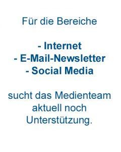 Wer will das Medienteam des Jugend Cup Renningen/Rutesheim unterstützen?